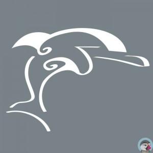Pochoir dauphin