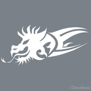 Pochoir Dragon