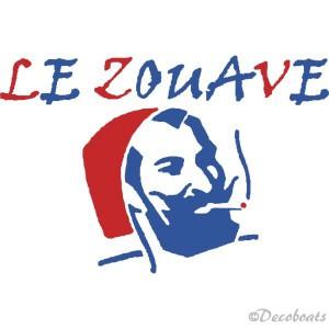 Sticker Le Zouave