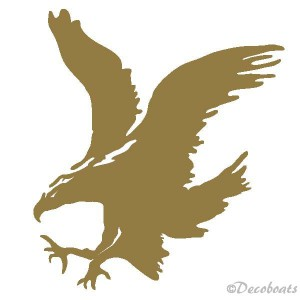 Sticker grand aigle royal