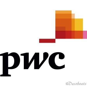 Autocollants logo pwc