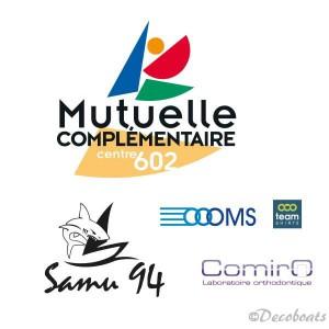 Lot logos voile pour SAMU 94