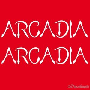 Lettrages ARCADIA