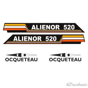 Stickers Alienor et Ocqueteau