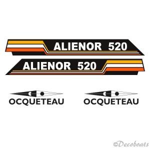 Stickers Alienor et Ocqueteau