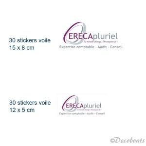 Stickers voile Erecapluriel