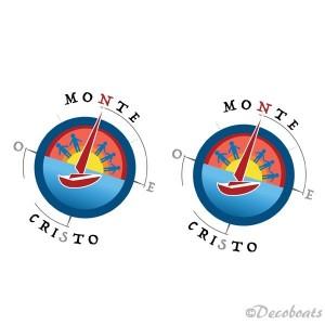 Sticker logo Montecristo