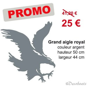 Promo Sticker aigle royal