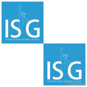Stickers voile logo ISG