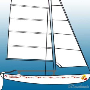 Pack Hobie Cat Virgules