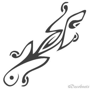 Sticker Salamandre
