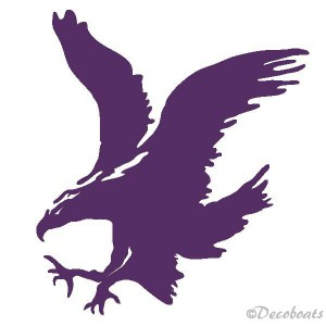 Sticker grand aigle royal