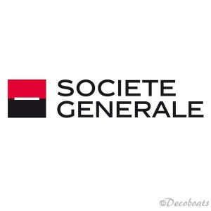 Sticker voile Société Générale