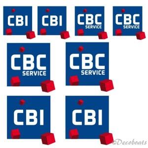 Stickers voile et coque CBC et CBI