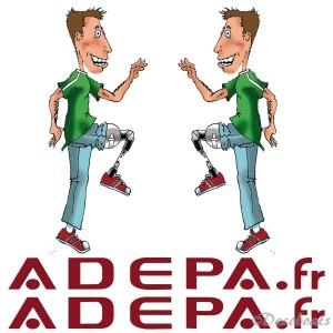 Lot adhésifs pour association ADEPA