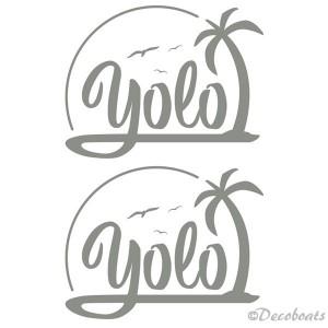 Stickers personnalisés Yolo
