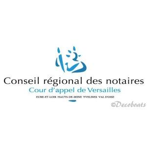 Adhesifs voile logo CR Versailles