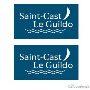 Stickers voile sponsor St Cast