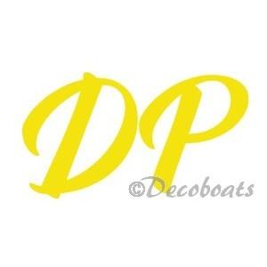 Lettres immatriculation DP