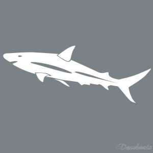 Pochoir Requin